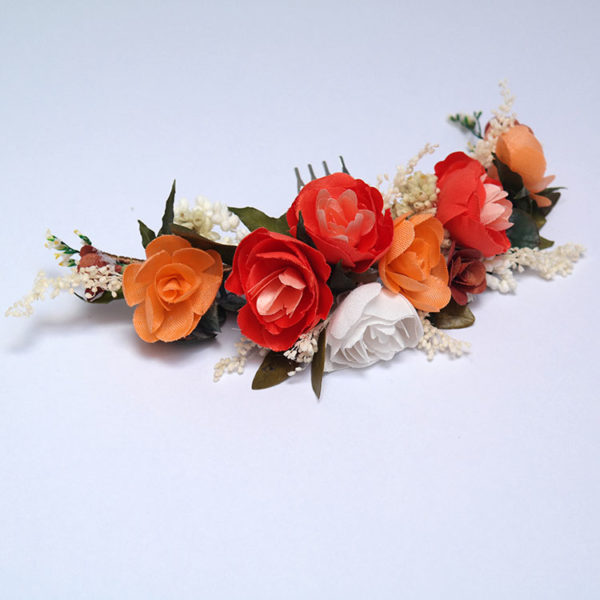 tocado peineta flower comb