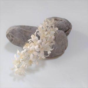 Accesorios para el cabello hechos a mano, peineta de pelo de flores para novia.