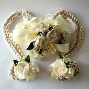 lazo de boda gardenias